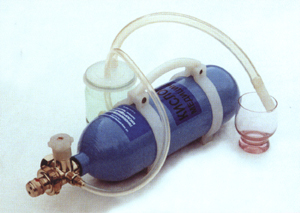 Приготовление кислородной пены.  Фотогалерея.  Компания Вита техника.